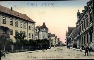 Ak Eschwege an der Werra, Reichensächser Straße