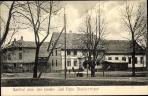 Ak Stadtoldendorf in Niedersachsen, Gasthof unter den Linden
