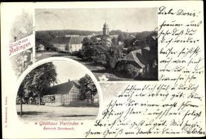 Ak Medingen Bad Bevensen in Niedersachsen, Gasthaus Vierlinden