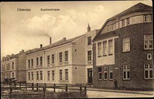 Ak Uetersen in Schleswig Holstein, Sophienstraße