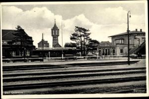 Ak Bad Oldesloe in Schleswig Holstein, Bahnhof