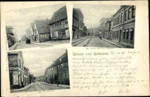 Ak Uetersen in Schleswig Holstein, Kuhlenstraße, Großer Wulfhagen, Großer Sand, Meierei