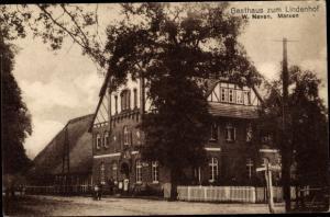 Ak Marxen in Niedersachsen, Gasthaus zum Lindenhof