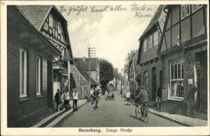 Ak Horneburg Niederelbe, Lange Straße