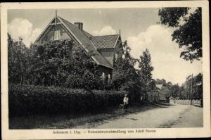Ak Ashausen Stelle Niedersachsen, Kolonialwarenhandlung