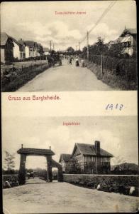 Ak Bargteheide in Schleswig Holstein, Tremsbütteler Straße, Jagdschloss