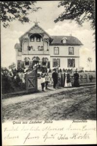 Ak Lasbek in Schleswig Holstein, Lasbeker Mühle, Pensionshaus