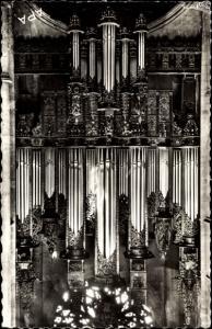 Ak Rodez Aveyron, Interieur de la Cathedrale, Les grandes orgues