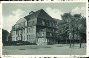 Ak Opladen Leverkusen im Rheinland, Realgymnasium