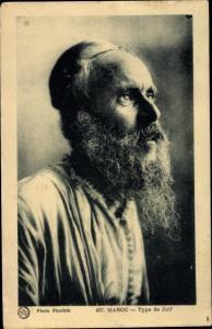 Judaika Ak Marokko, Type de Juif, Jude