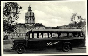 Ak Berlin Treptow Niederschöneweide, Reise Omnibus Vermietung, Spreestr. 21