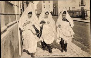 Judaika Ak Tunesien, Femmes Juives, Jüdinnen