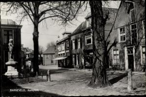 Ak Barneveld Gelderland, Kerkplein