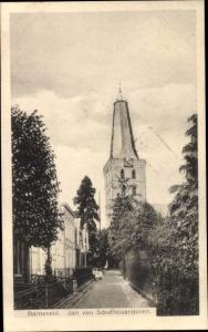 Ak Barneveld Gelderland, Jan van Schaffelaarstoren