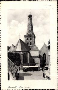 Ak Barneveld Gelderland, Herv. Kerk