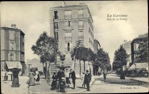 Ak La Garenne Colombes Hauts de Seine, Place de la Pointe