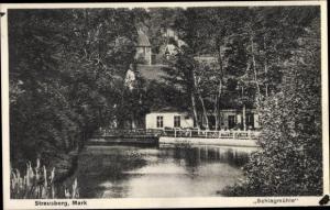 Ak Strausberg in Brandenburg, Schlagmühle