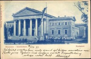Ak Budapest Ungarn, Mücsarnok Künstlerhaus