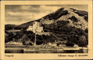 Ak Visegrad Ungarn, Salamon tornya es varreszlet, Salondampfer