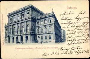 Ak Budapest Ungarn, Akademie der Wissenschaften