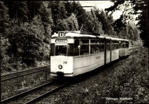 Ak Waldbahn, Tabarz, Thüringer Waldbahn Linie 4