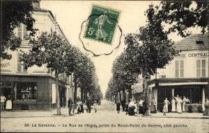Ak La Garenne Colombes Hauts de Seine, Rue de l´Aigle, Charcuterie