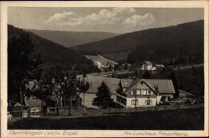 Ak Oberrittersgrün Breitenbrunn Erzgebirge, Am Landhaus Fritzschberg