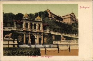 Ak Budapest Ungarn, Der Burgbazar