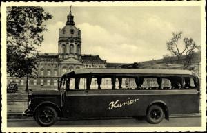 Ak Berlin Treptow Niederschöneweide, Reise Omnibus Vermietung E. Liers, Spreestraße 21