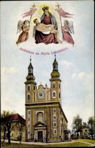 Ak Maria Lanzendorf Niederösterreich, Kirche