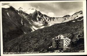 Ak Ranalt Stubaital Tirol, Nürnberger Hütte, Feuersteine