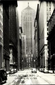 Ak Chicago Illinois, Board of Trade, Skyscrapers