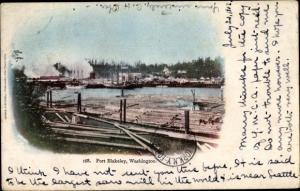 Passepartout Ak Port Blakely Washington, Sägewerk