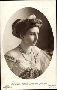 Ak Prinzessin Victoria Luise von Preußen, Portrait