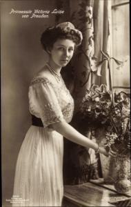 Ak Prinzessin Victoria Luise von Preußen, Portrait, Liersch 3410