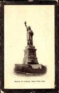 Ak New York City USA, Statue of Liberty