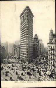 Ak New York City USA, Flatiron Building