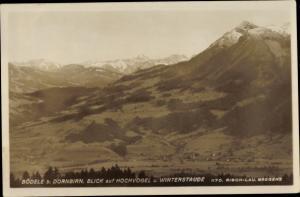 Ak Dornbirn in Vorarlberg, Bödele, Blick auf Hochvogel und Winterstaude