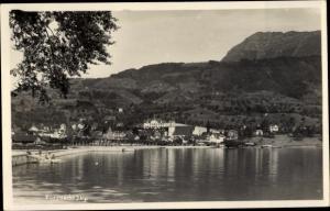 Ak Küssnacht Kanton Schwyz, Blick auf den Ort
