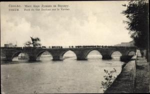 Ak Skopje Üsküb Mazedonien, Pont du Car Duchan sur le Vardar
