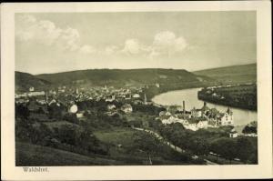 Ak Waldshut Tiengen am Hochrhein, Gesamtansicht
