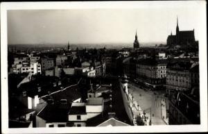 Ak Brno Brünn Südmähren, Teilansicht