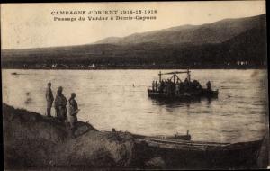 Ak Mazedonien, Fluss Vardar, Passage a Demir Capons