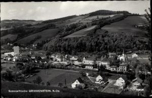Ak Grimmenstein Niederösterreich, Panorama