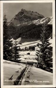 Ak Risch Lau Bregenz am Bodensee Vorarlberg, Wintersportplatz Gargellen