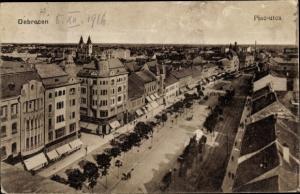 Ak Debreczen Debrecen Debrezin Ungarn, Piac utca