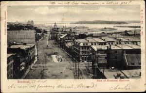 Ak Montreal Québec Kanada, Part of Montreal Harbour