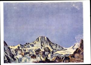 Künstler Ak Hodler, F., Berg Breithorn