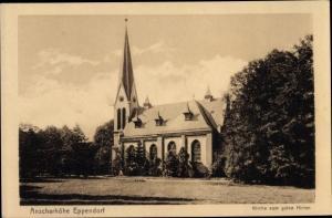 Ak Hamburg Nord Eppendorf, Sankt Anscharhöhe, Kirche zum guten Hirten