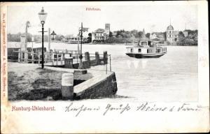 Ak Hamburg Nord Uhlenhorst, Fährhaus